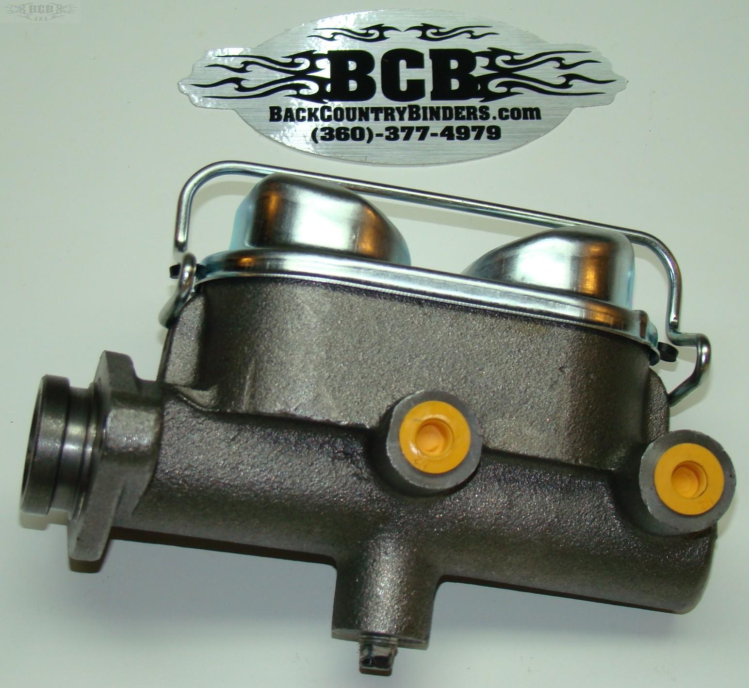 Scout 800 dual reservoir master cylinder