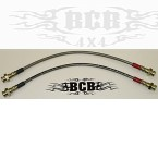 Scout 2, Traveler, and Terra SS braided brake line 1972-1974.5 DRUM