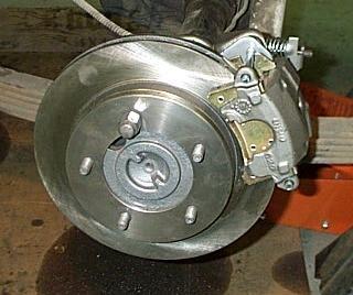 BCB Dana 44 Rear Disk Brake Kit