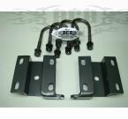 Universal Hidden U-bolt plate rear kit.